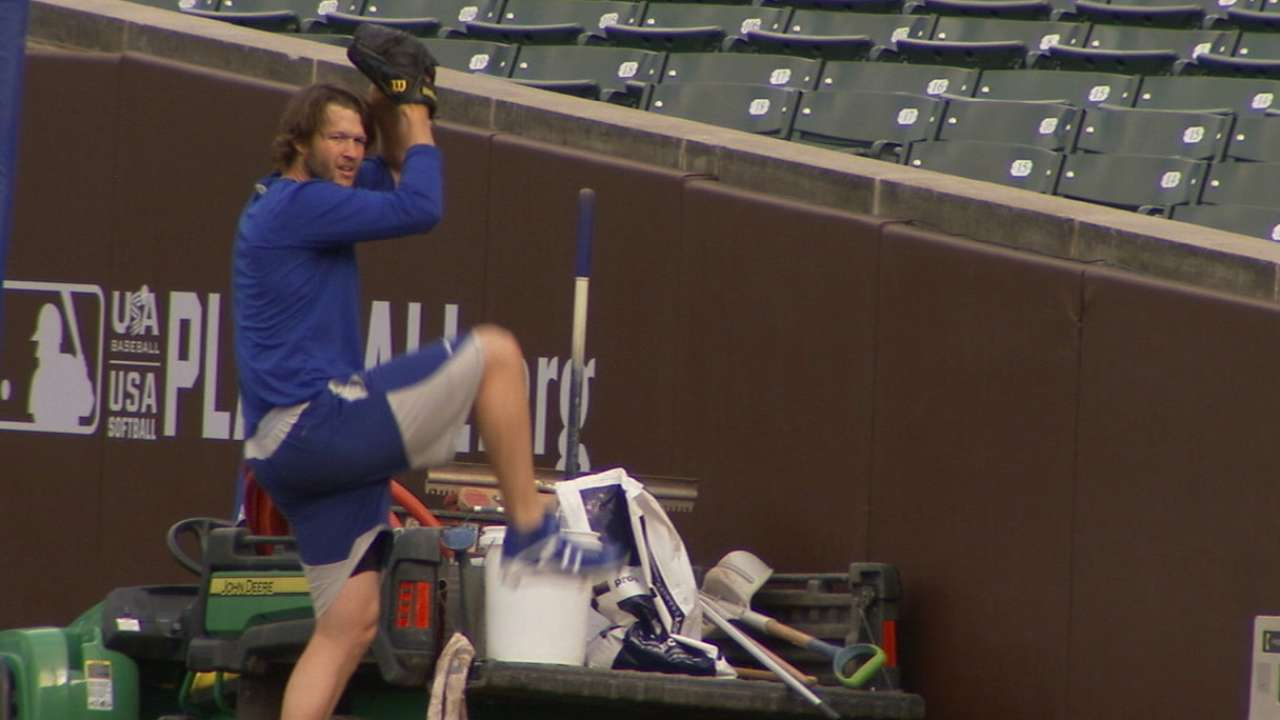Kershaw starting Game 2 with no 'restrictions'