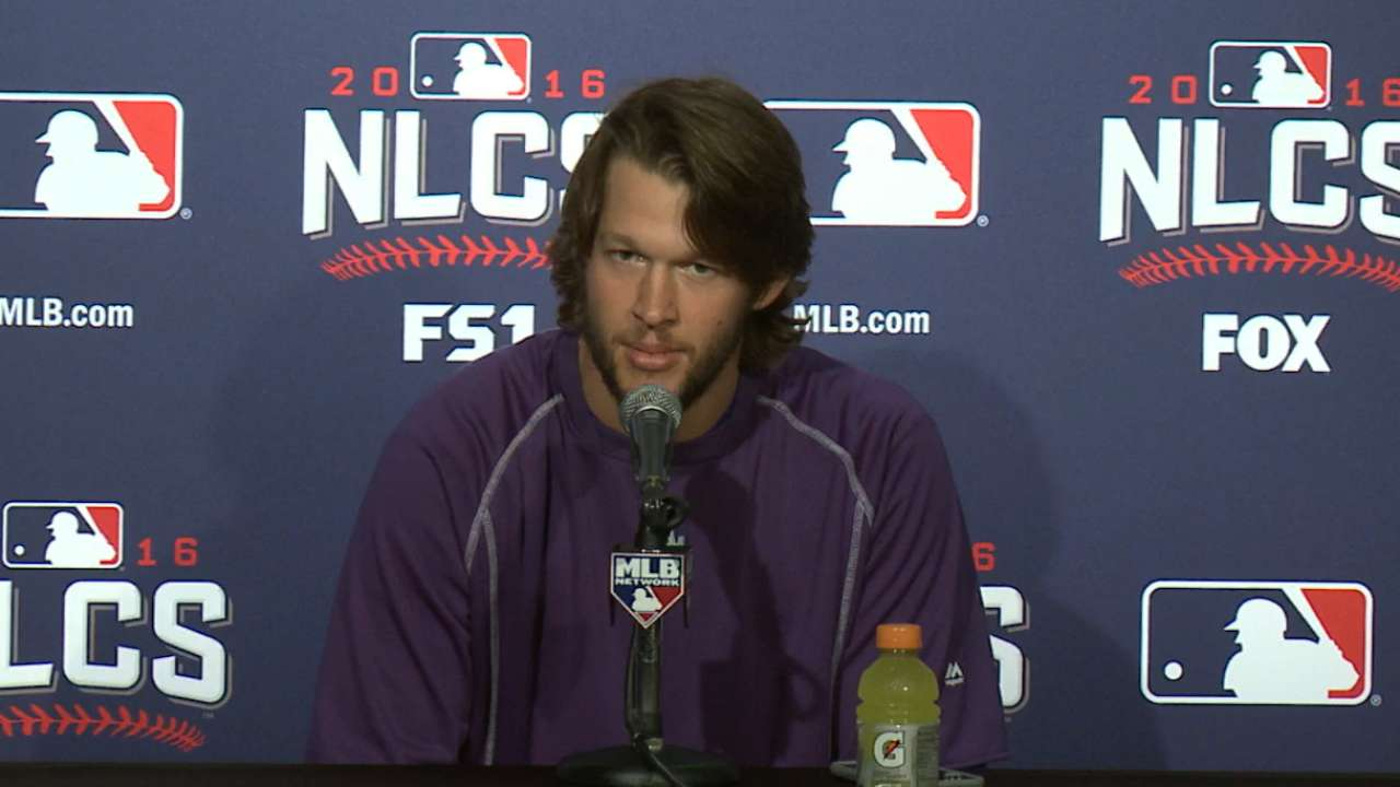 Kershaw discusses Cubs offense