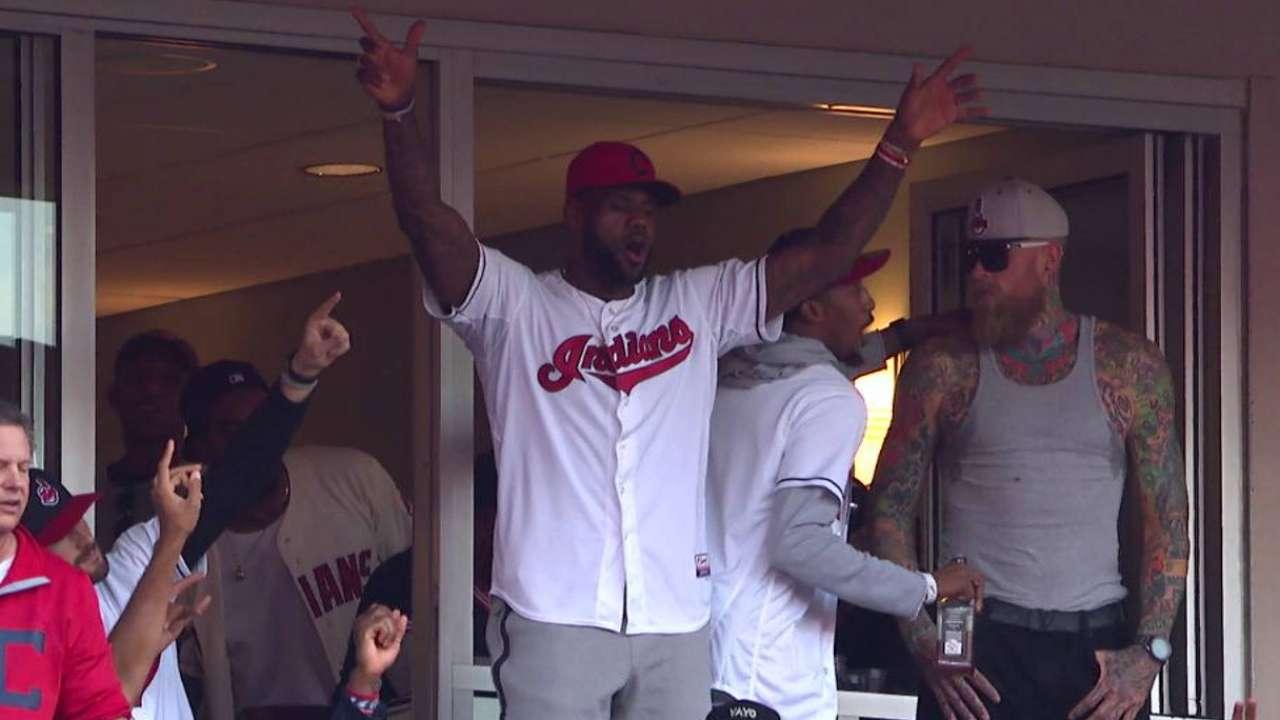 LeBron's lead: Tribe continues Cleveland's renaissance