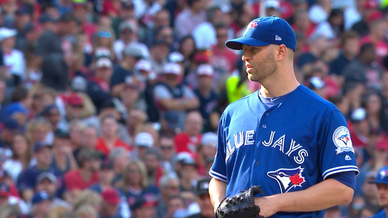 Happ does his part to keep relievers rested