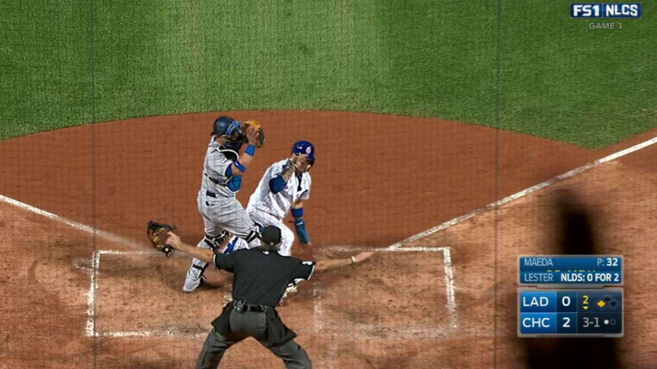 Baez steal of home 109 years in the making