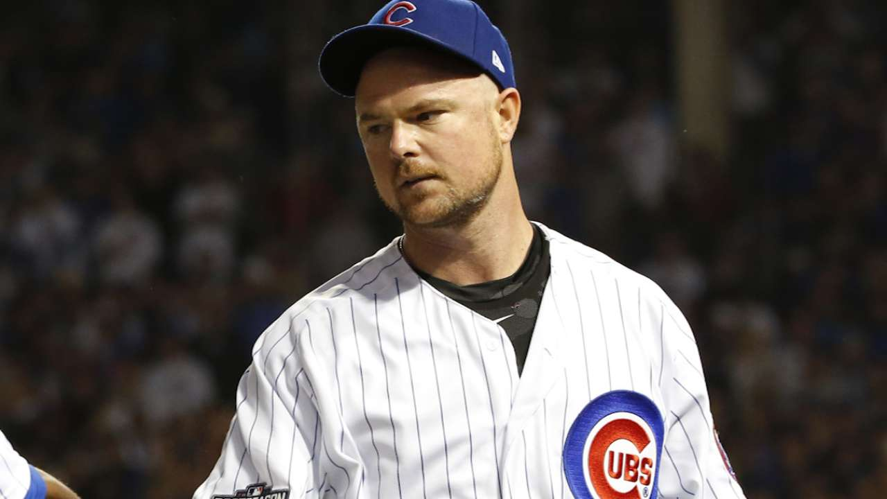 Lester on coming out of the game