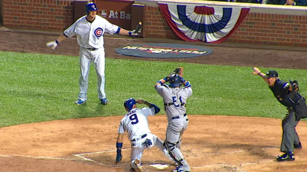 Must C: Baez steals home