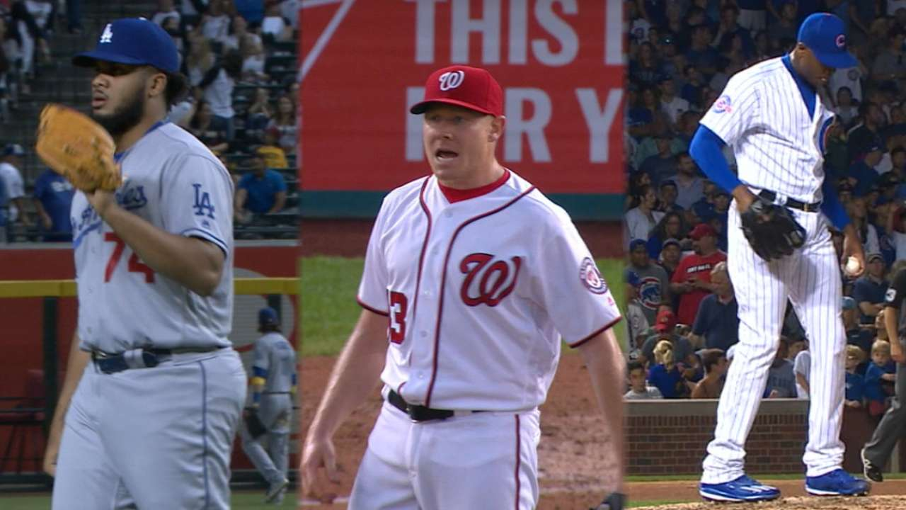 Several worthy of NL's top relief honor