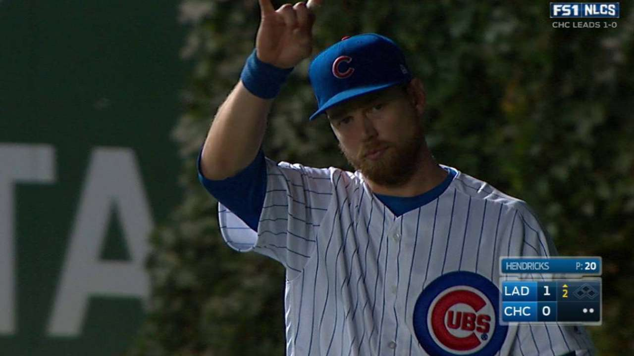 Zobrist leaps for the out