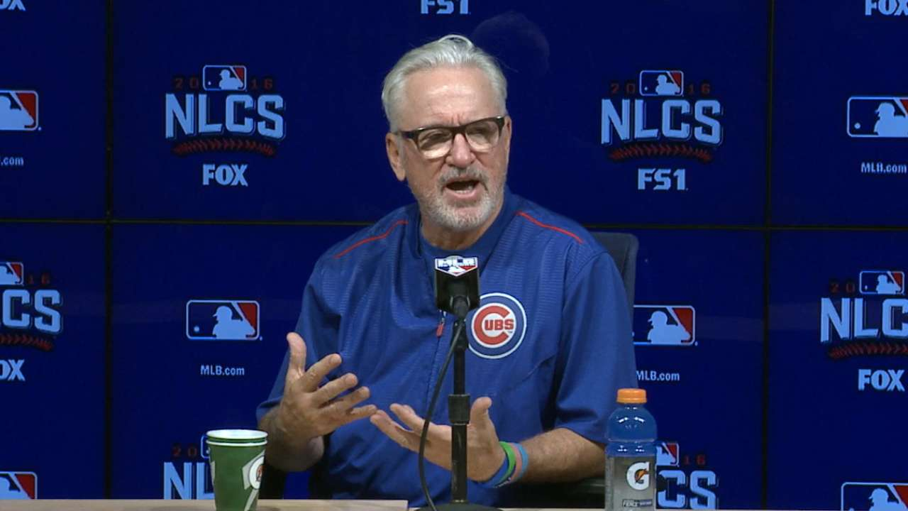 Maddon: Cubs not capable of swiping signs