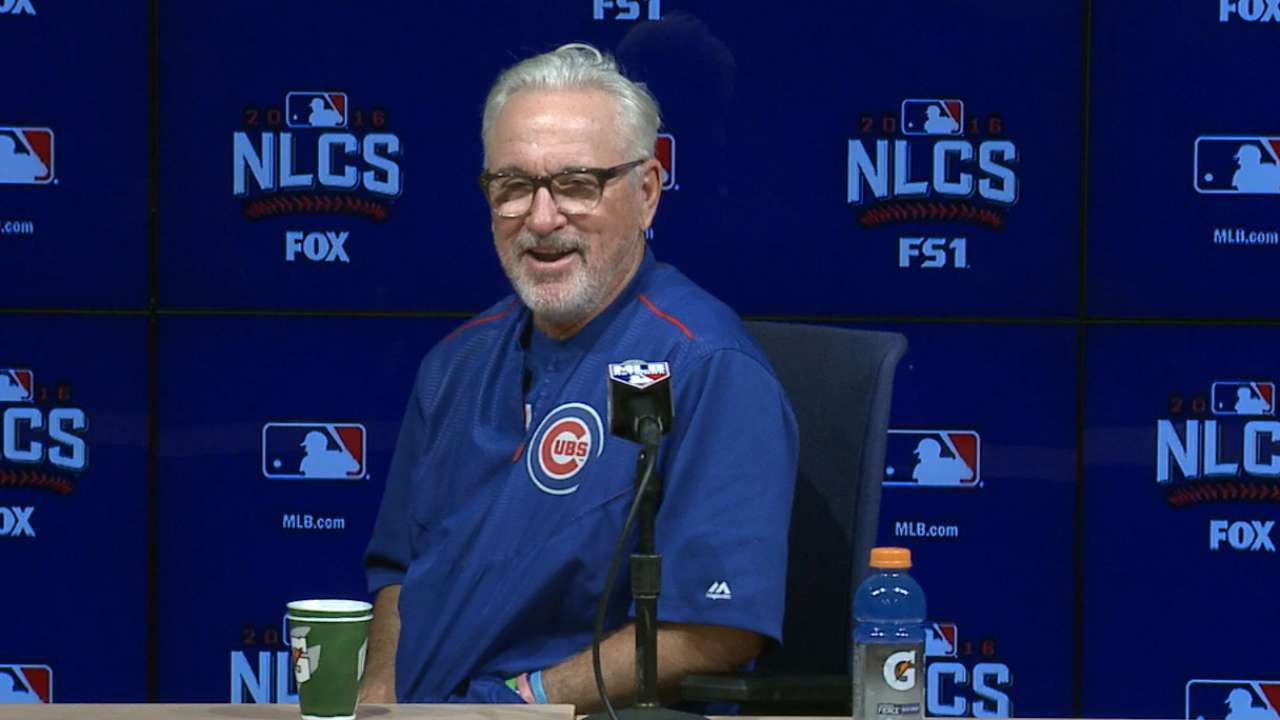 In-flight entertainment: Relievers call on Maddon