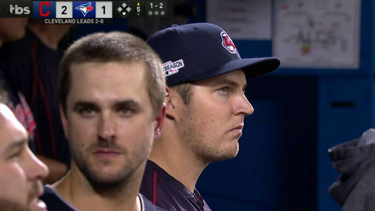 Bauer returns to dugout