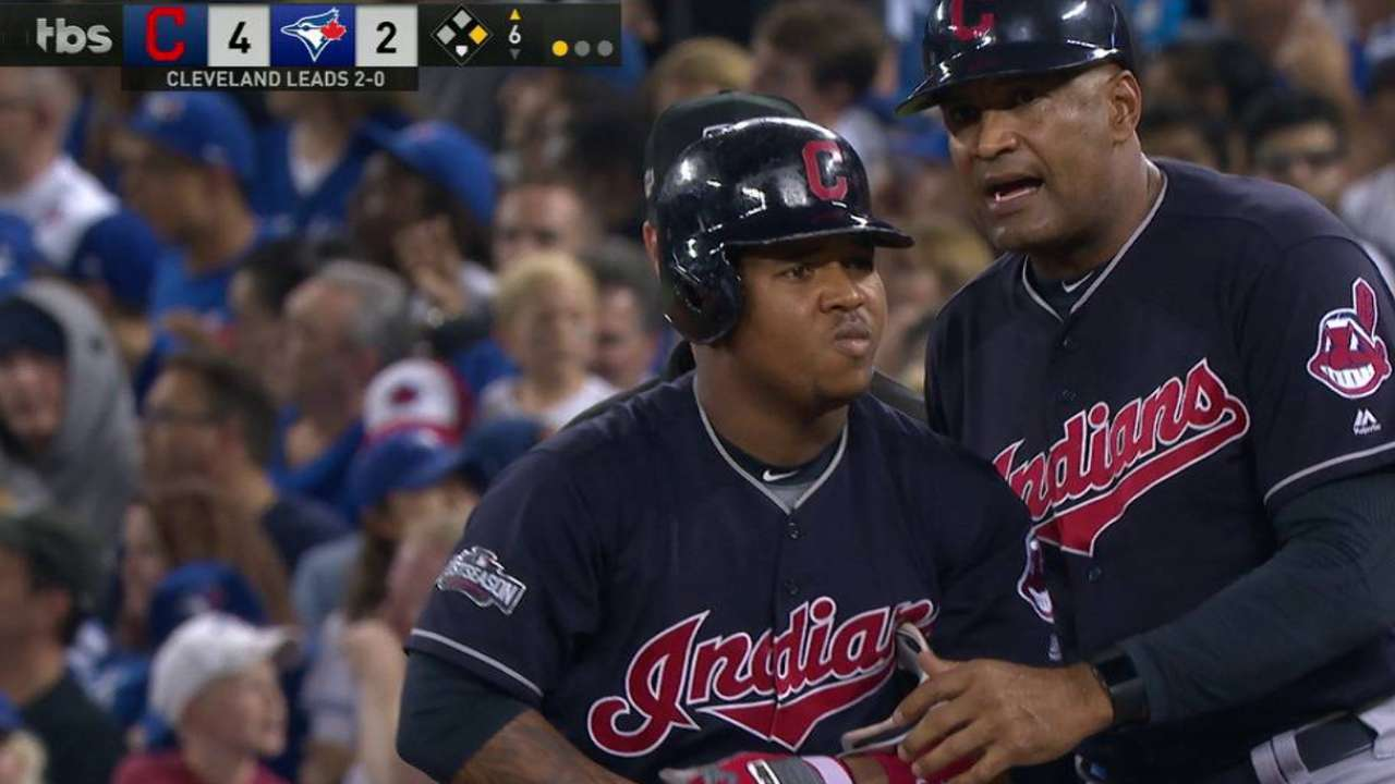Ramirez arrives in time to help Tribe's run