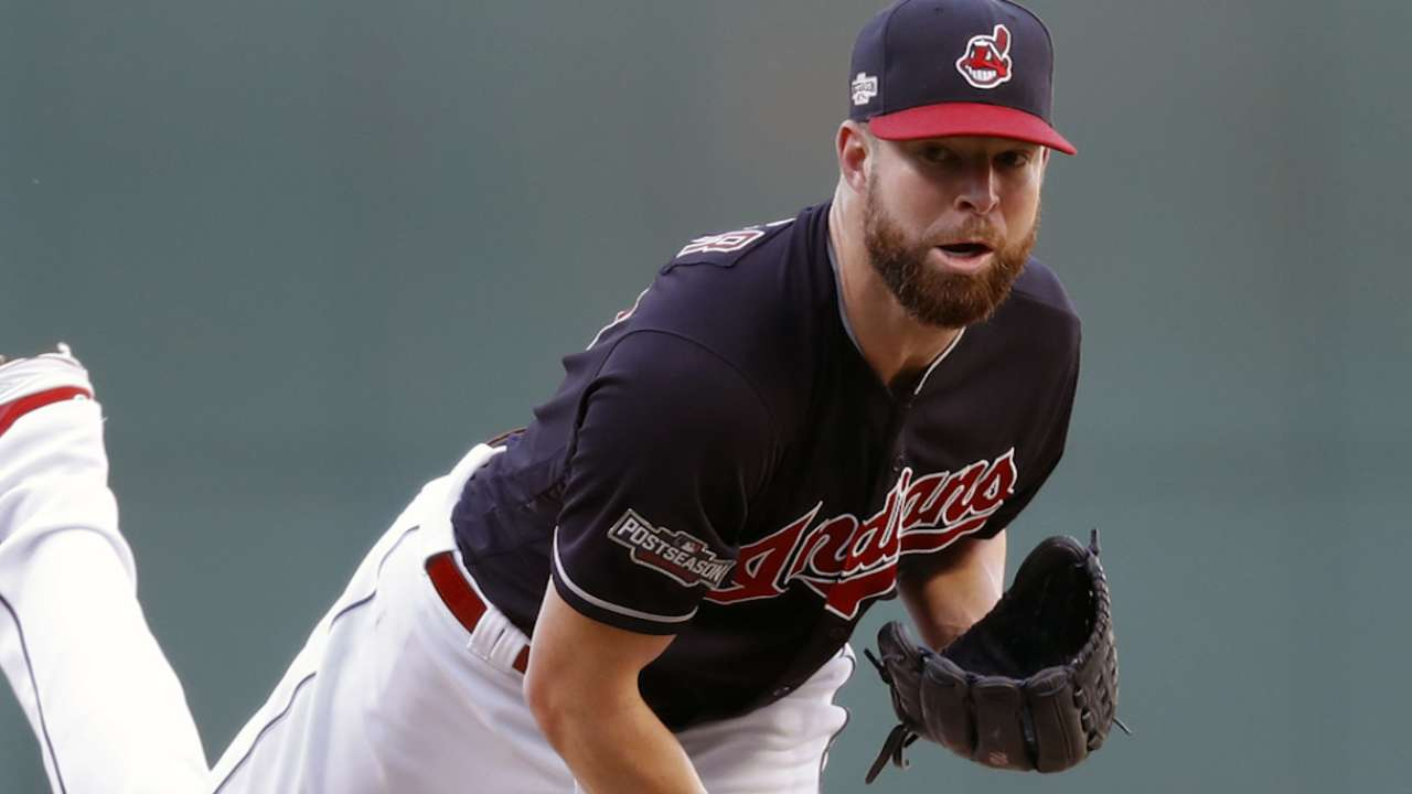 Kluber set for Game 4 in wake of Bauer outage