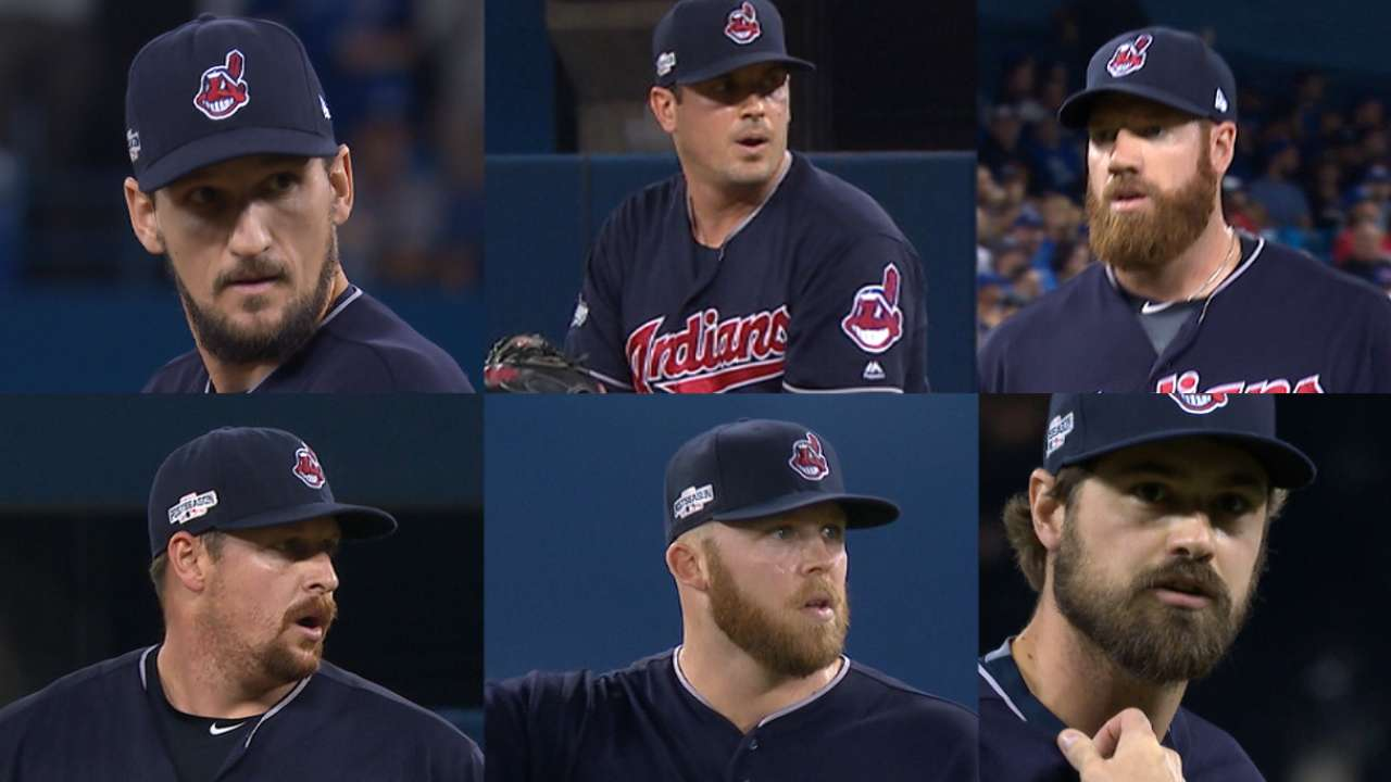 Tribe relievers twirl a gem