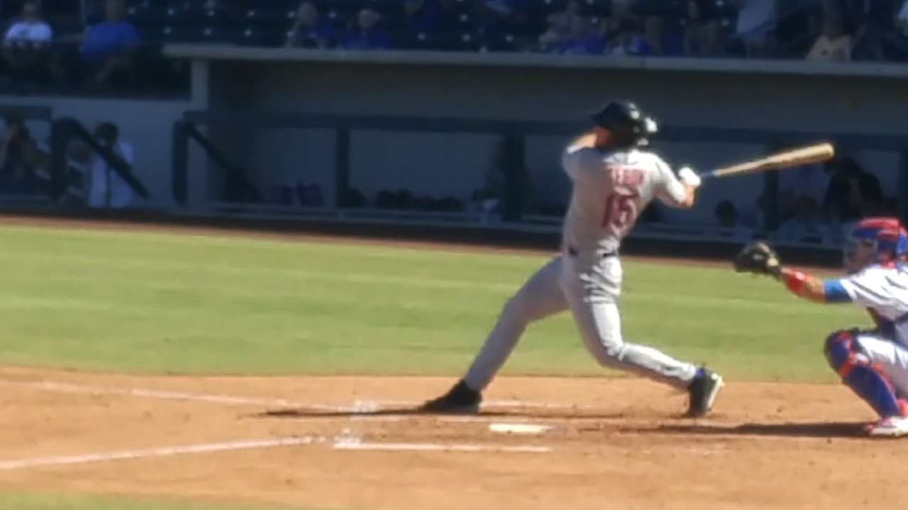 Mets' Tebow notches first hit of Fall League