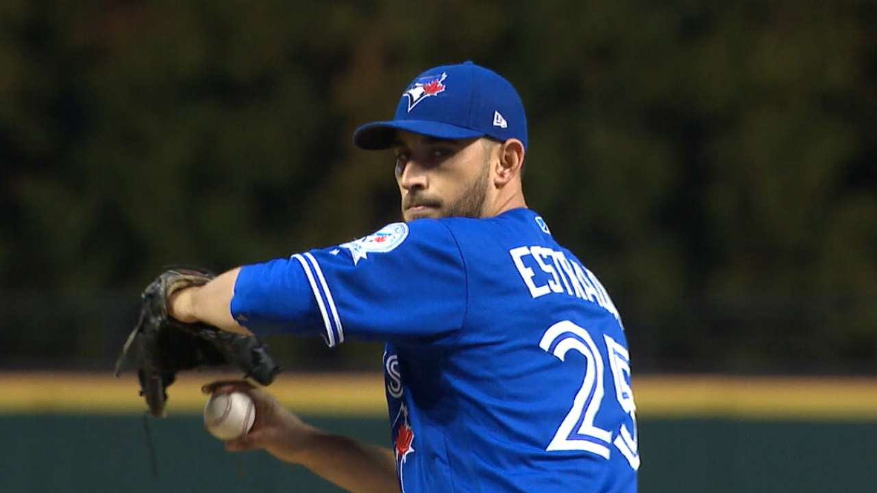 Estrada on starting Game 5
