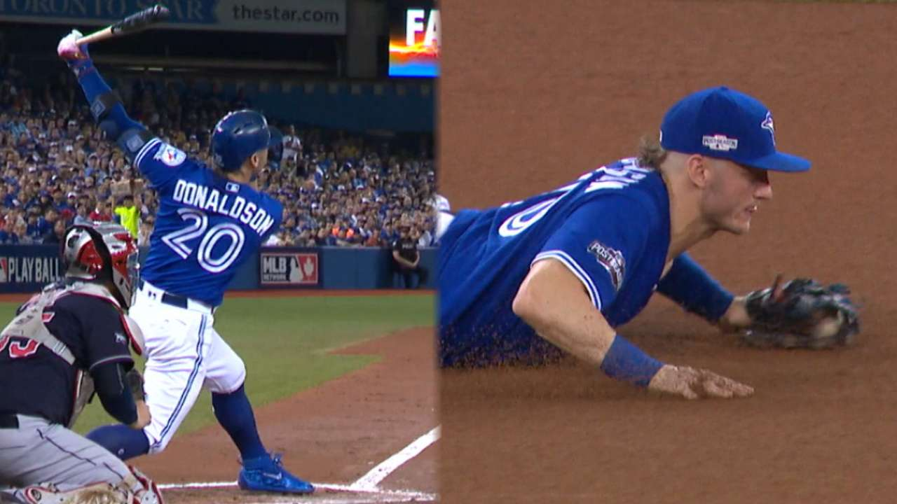 Donaldson shows off versatility