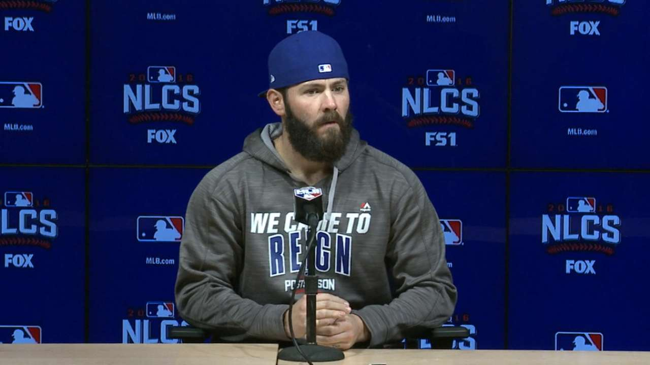 Arrieta on his NLCS Game 3 start
