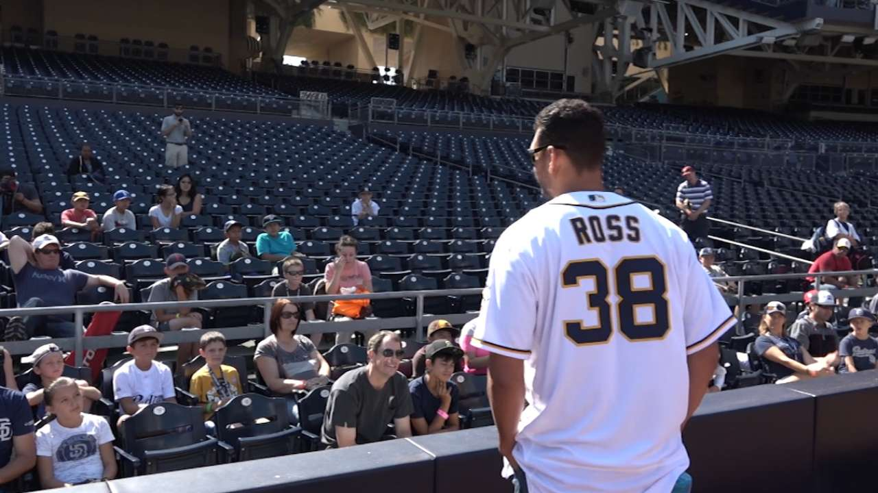 SD's Ross non-tendered, now a free agent