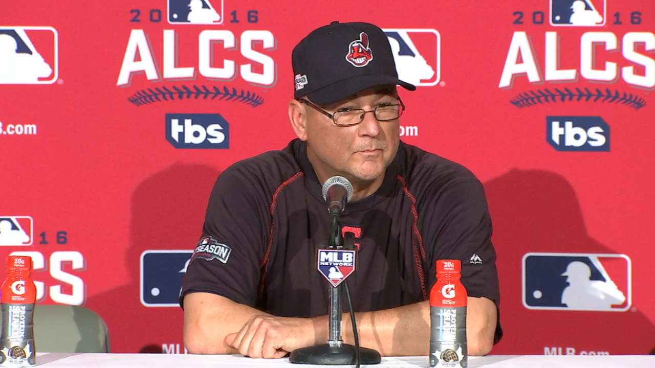 Oct. 18 Terry Francona postgame interview