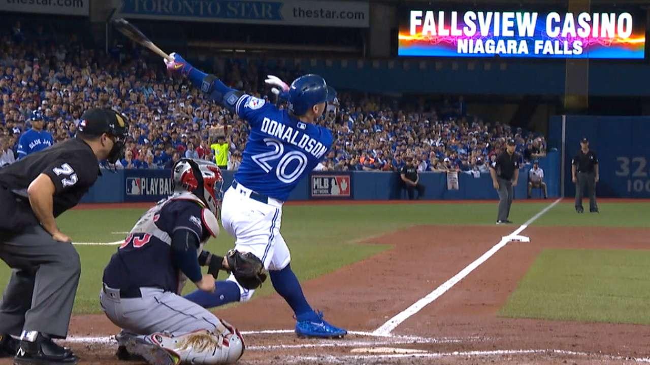 Donaldson's solo homer