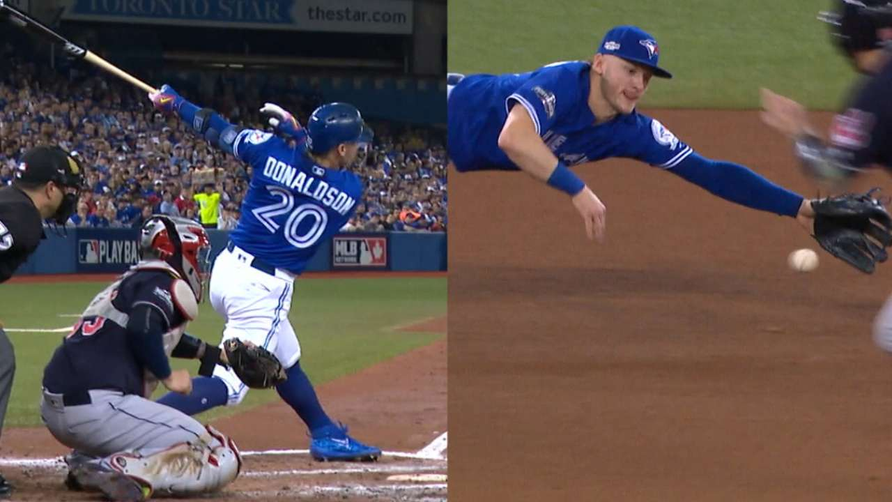 Must C: Donaldson homers, dives