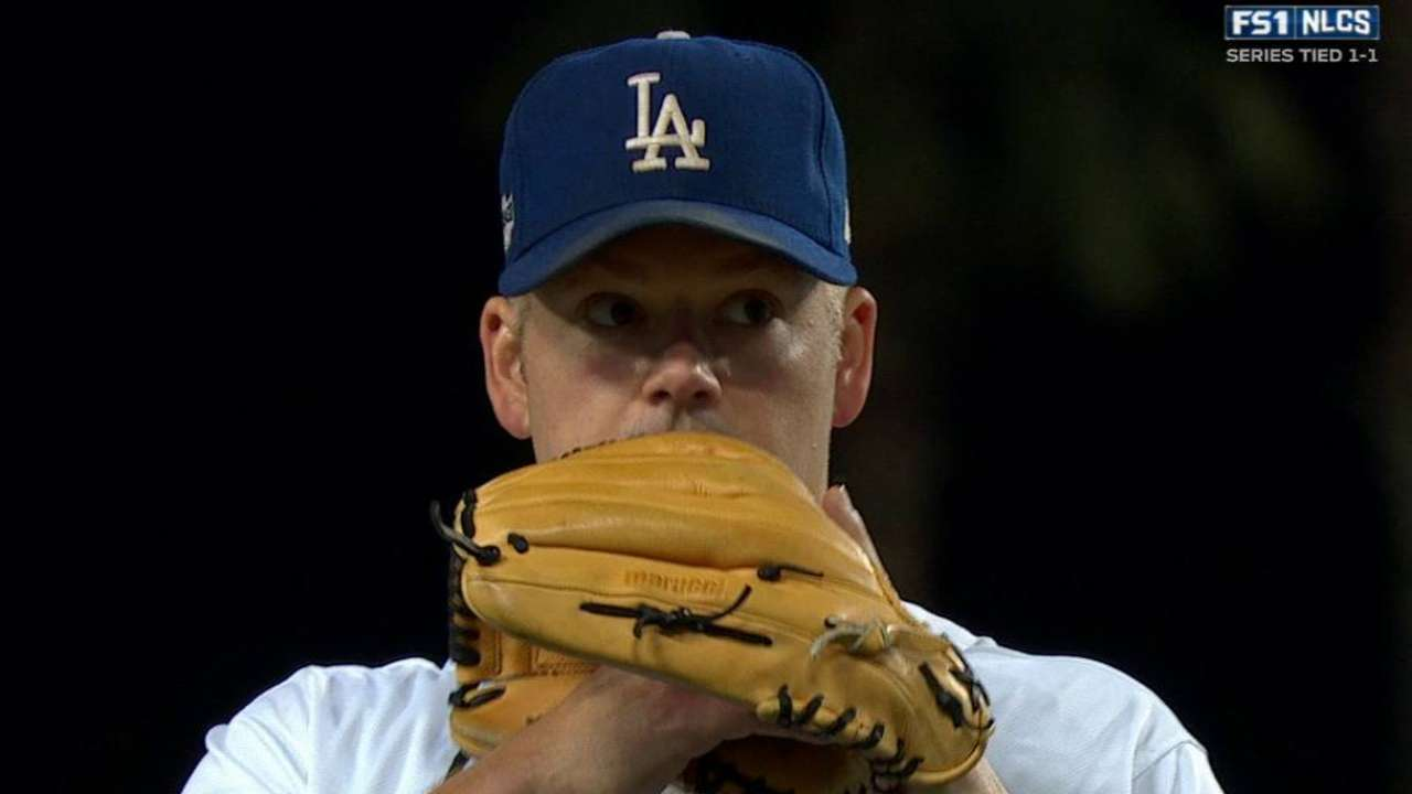 Blanton gets back on track with perfect inning