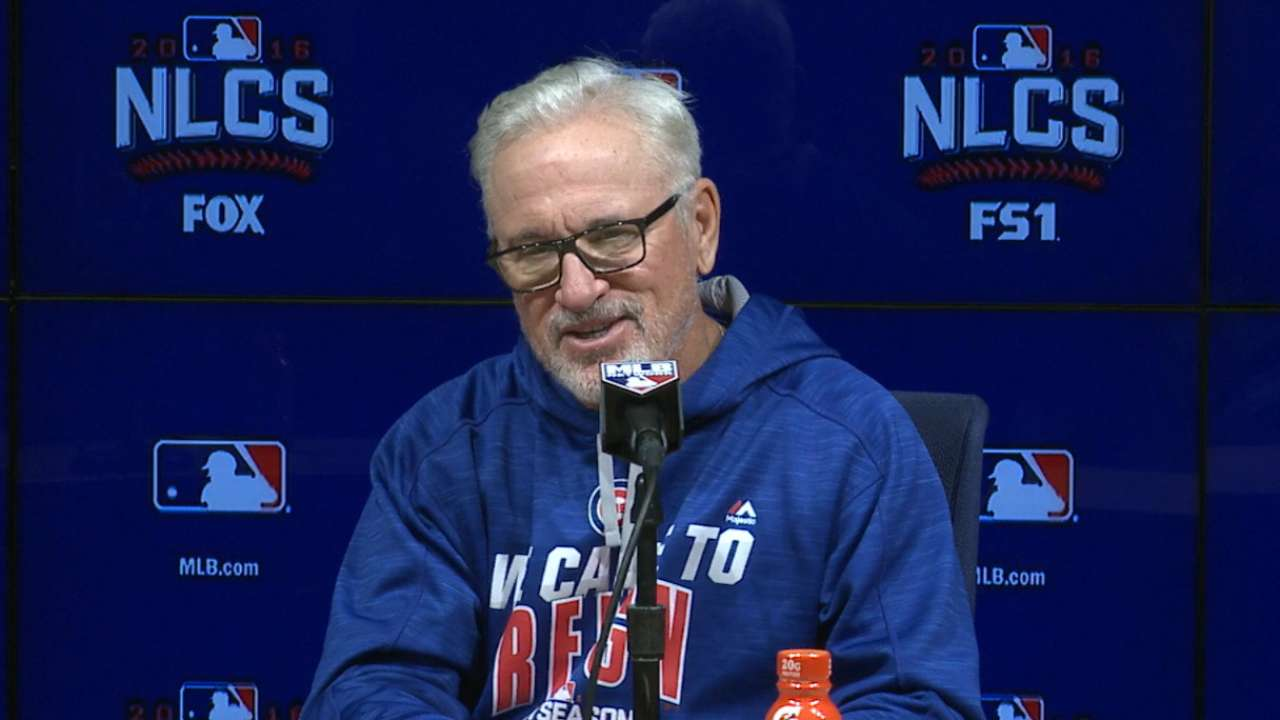 Maddon on Cubs' quiet bats