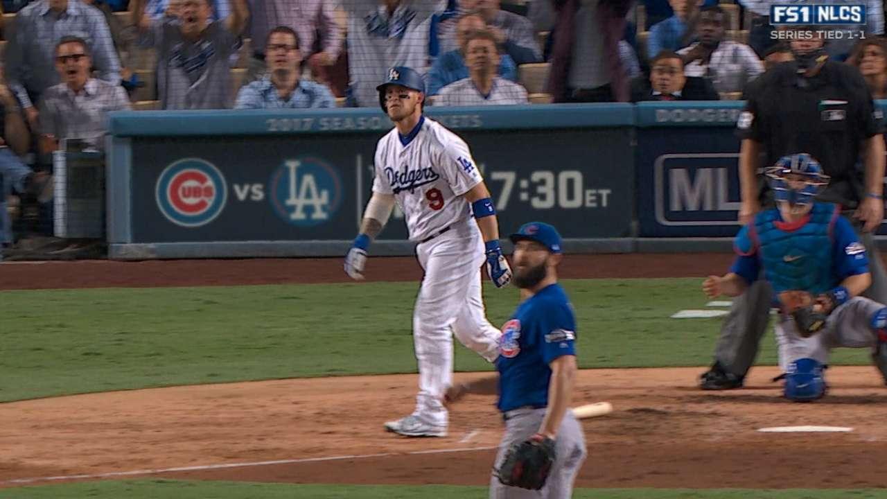 Yasmani Grandal contribuyó doble a la victoria de los Dodgers