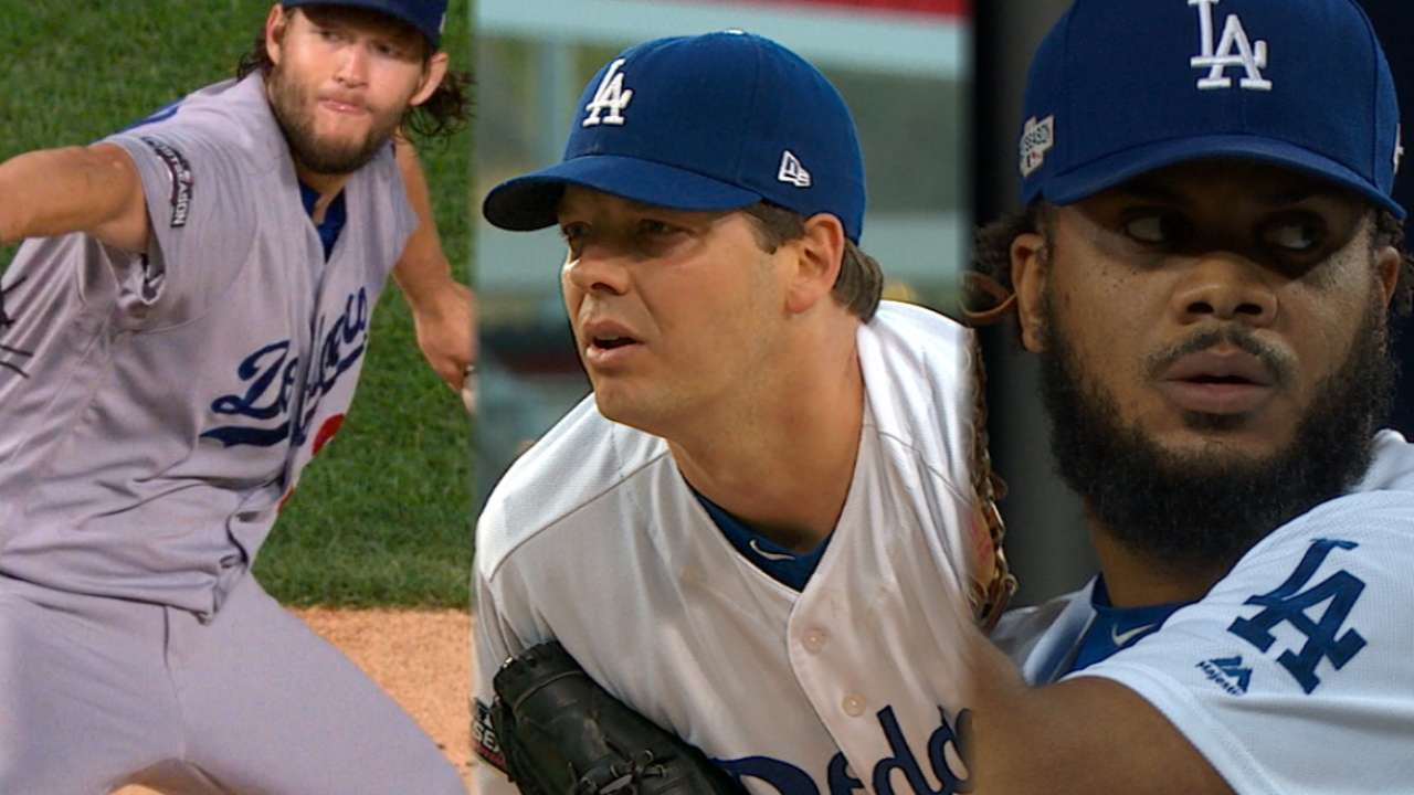 Dodgers' back-to-back shutouts