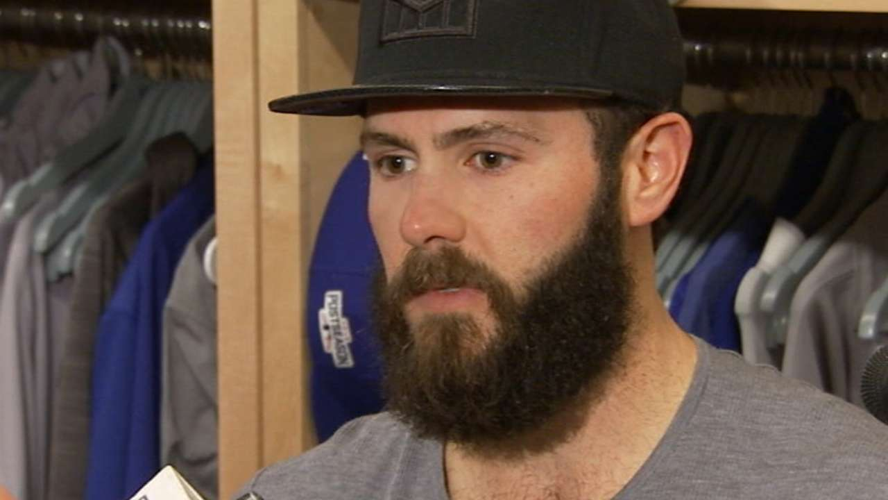 Arrieta: 'I'll pitch again' after tough loss to LA