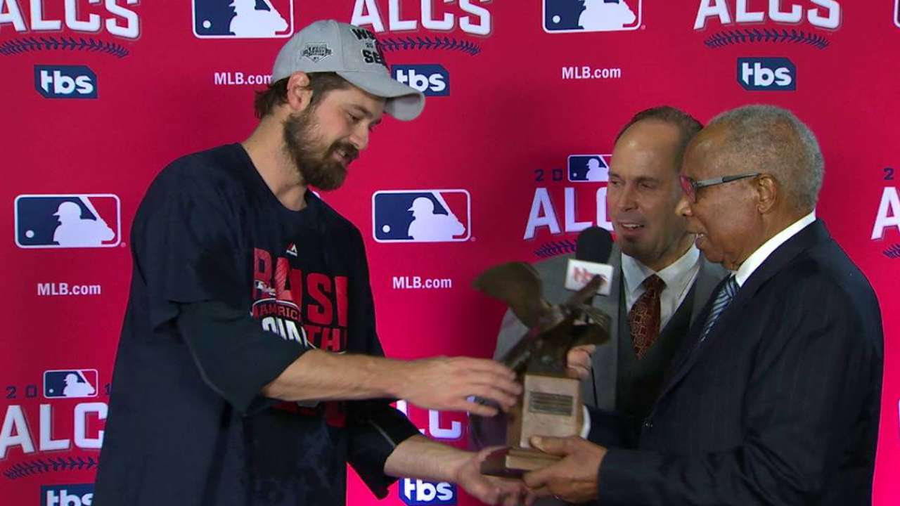 Miller discusses ALCS MVP