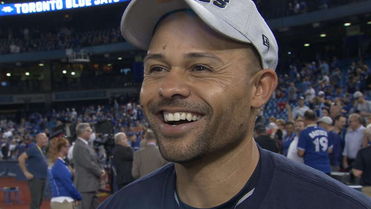 Crisp excited to win AL pennant