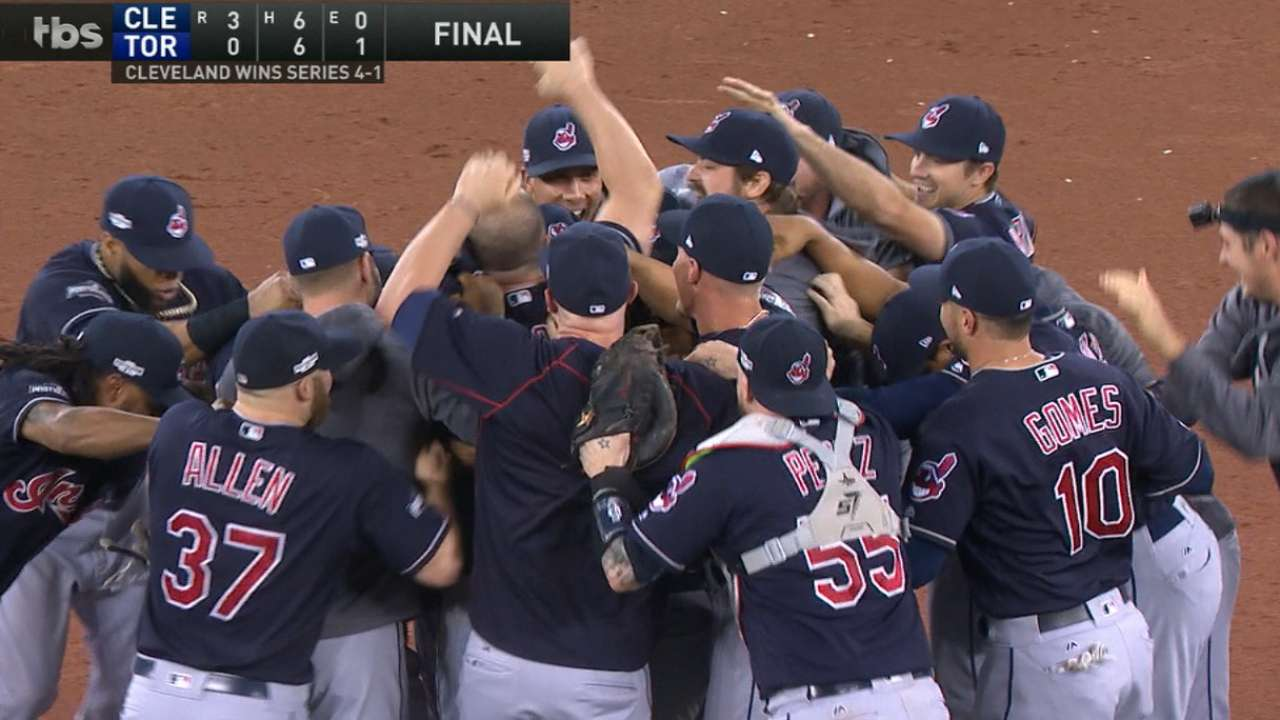 Radio Call: Indians clinch ALCS