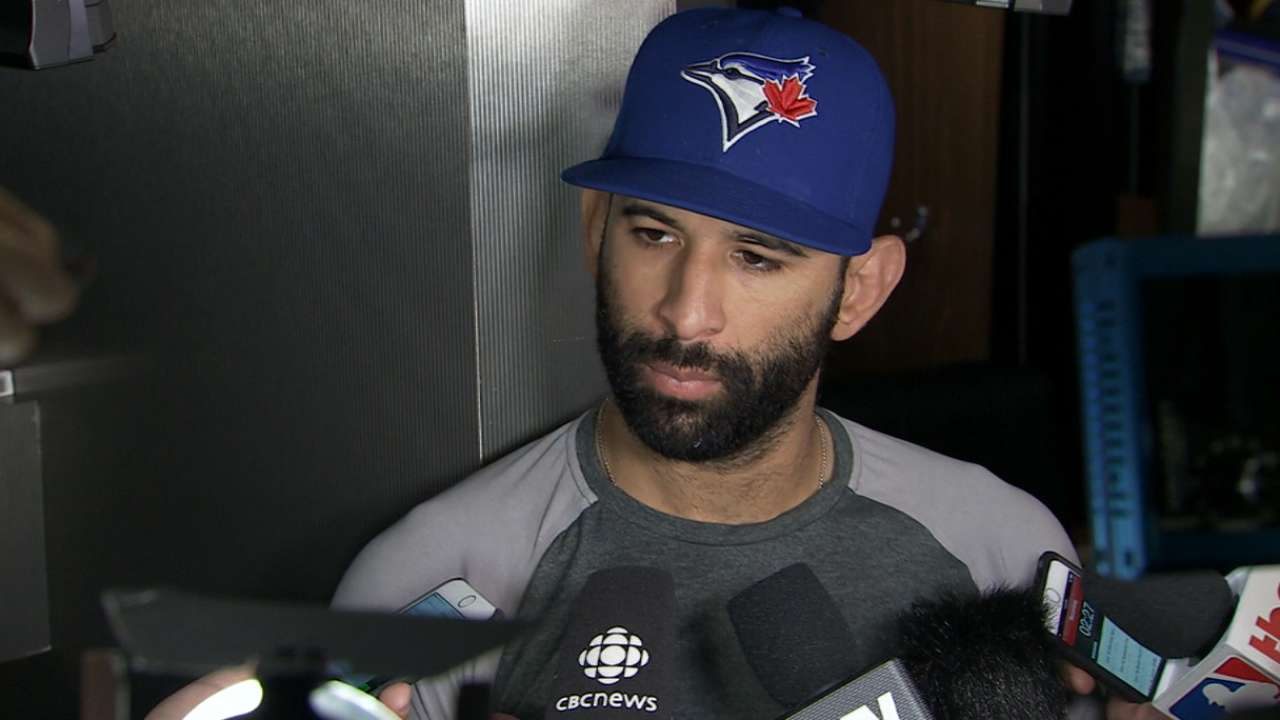 Bautista on offense in loss