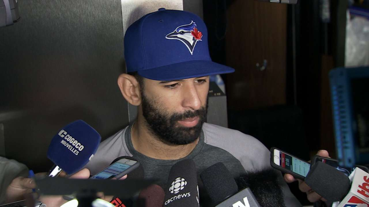 Bautista quiet about free agency