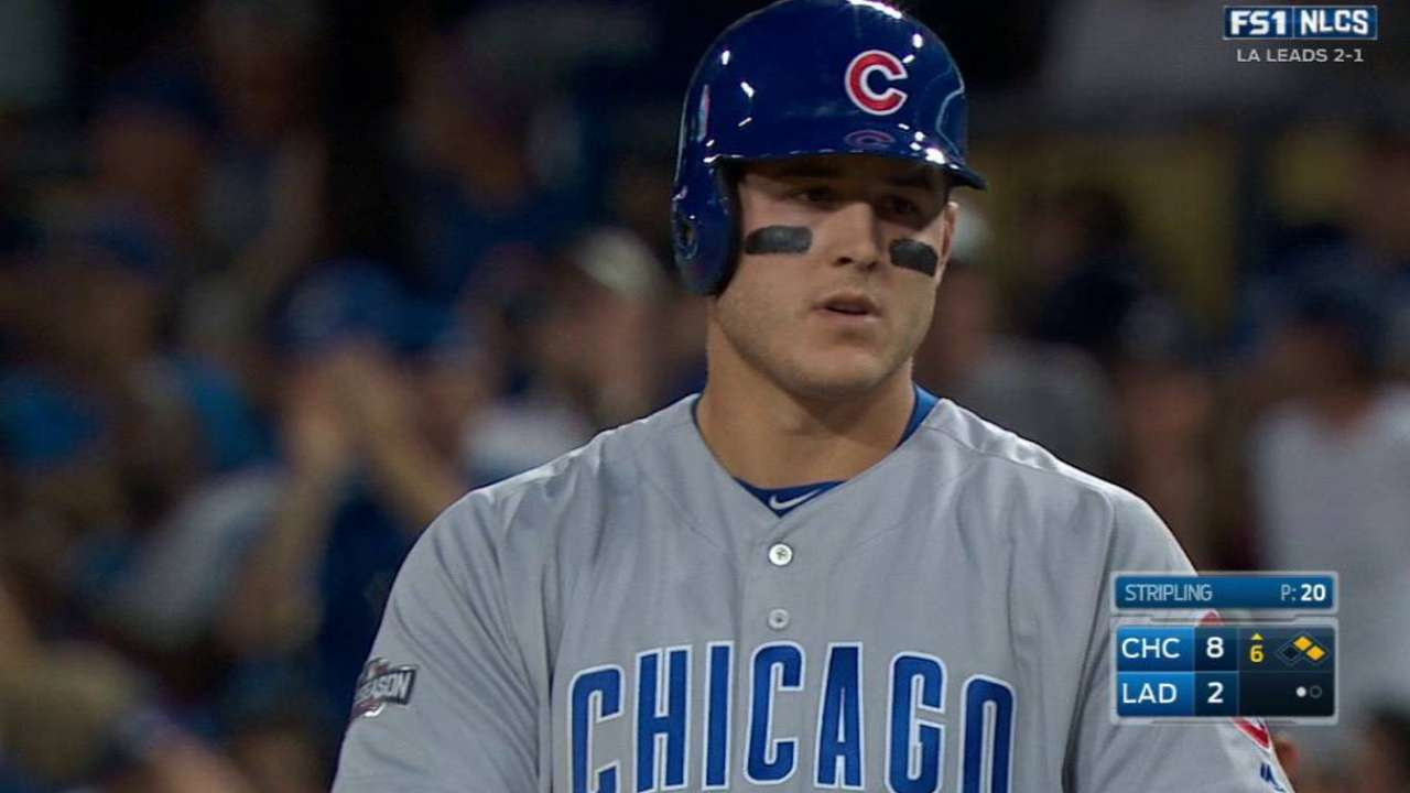Rizzo's two-run single to right