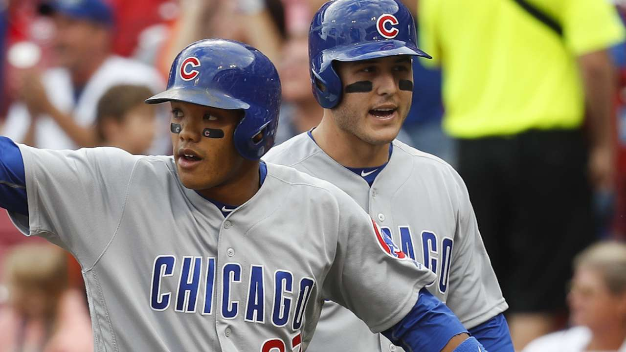 Rizzo and Russell on big Game 4
