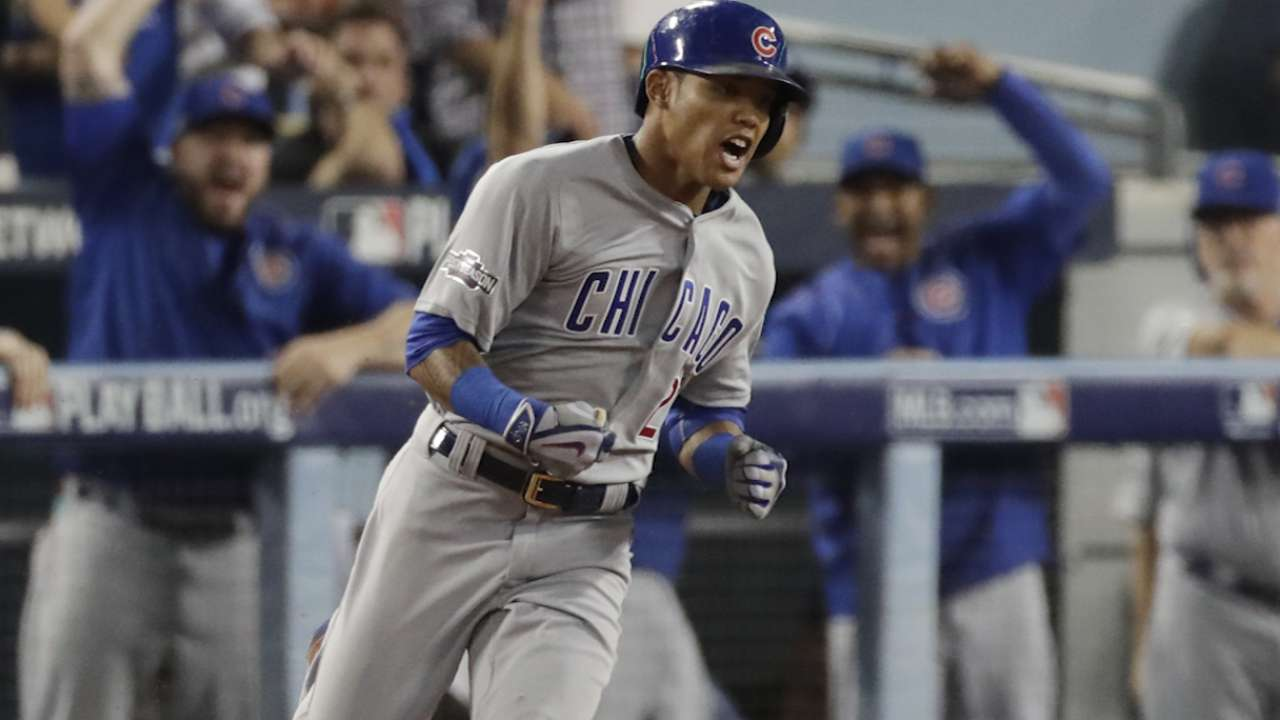 Oct. 19 Anthony Rizzo, Addison Russell postgame interview