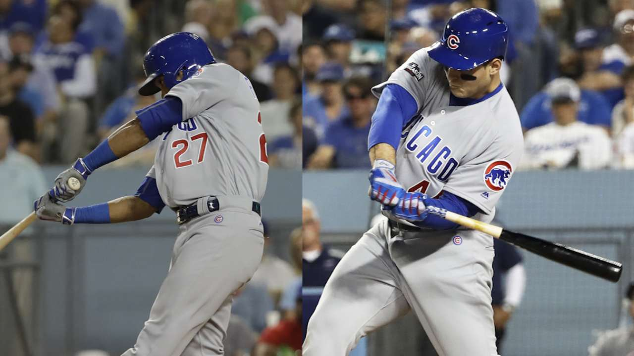 R&R: Rizzo, Russell crank up Cub bats