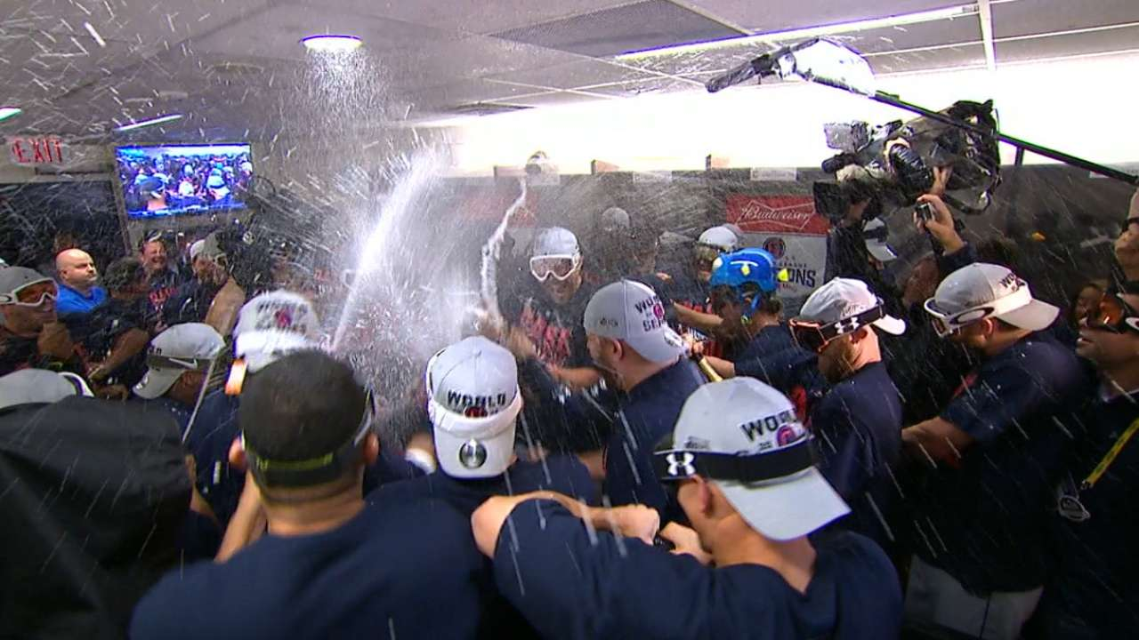 Indians' path to World Series