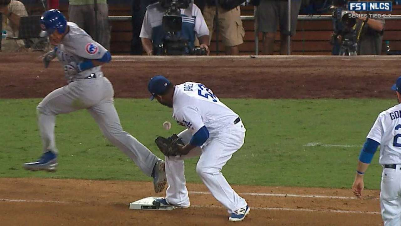 Russell reaches on error