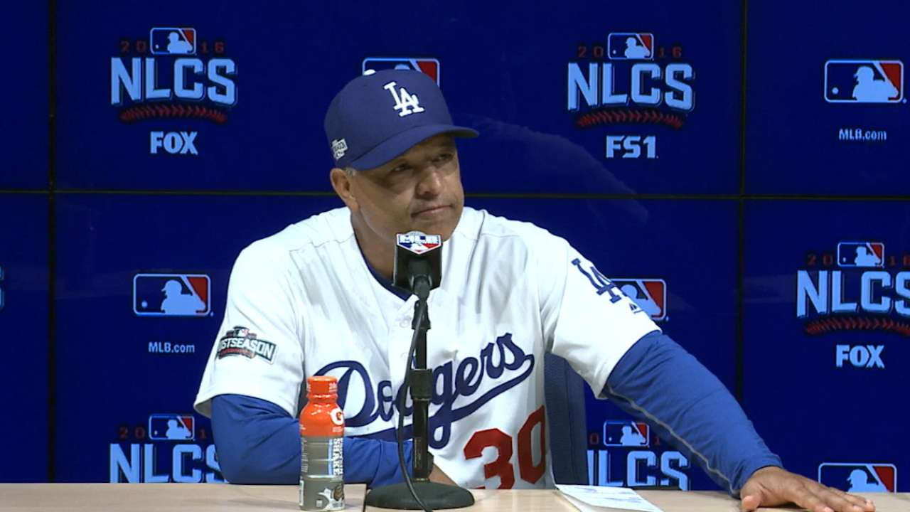 Dodgers dealt NLCS blow, face must-win Game 6