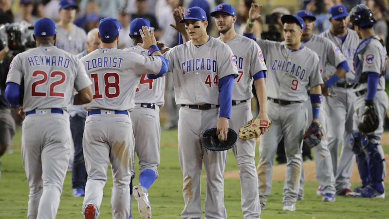 Cubs are 1 Wrigley W shy of historic WS