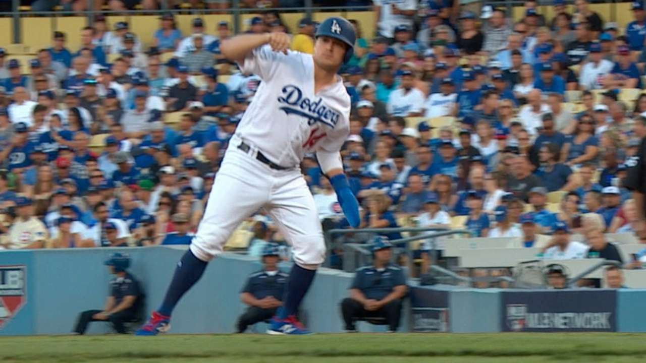 Dodgers on running vs. Lester