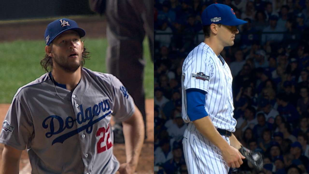 NLCS Game 6 starting lineups: Dodgers vs. Cubs