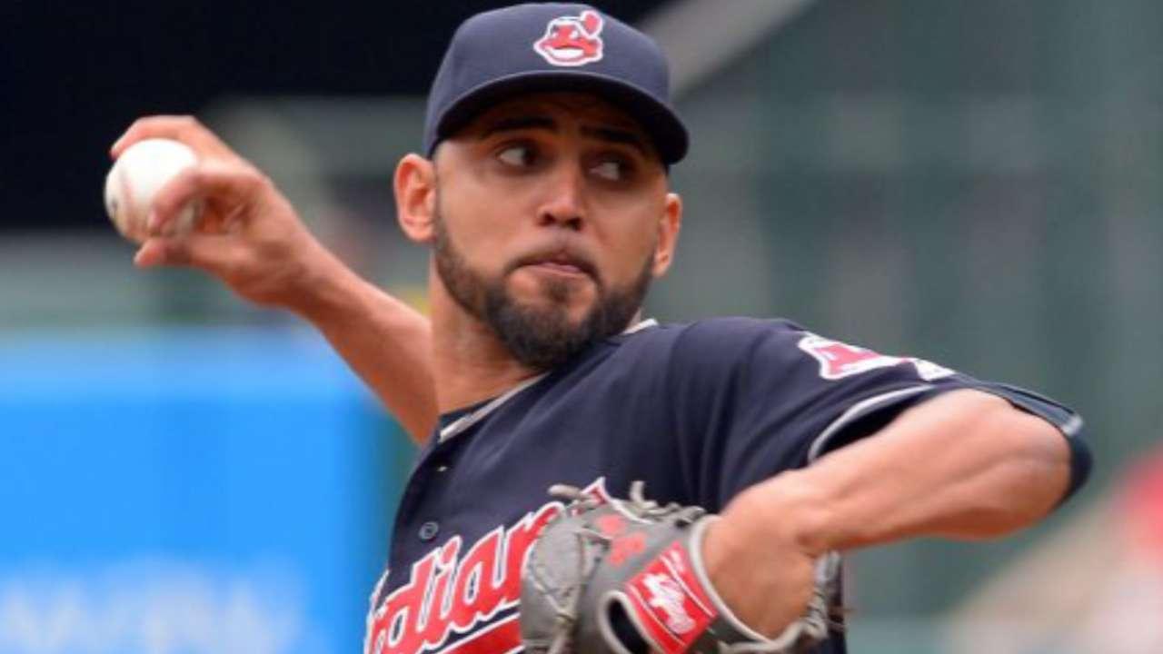 Indians consider Salazar for World Series start