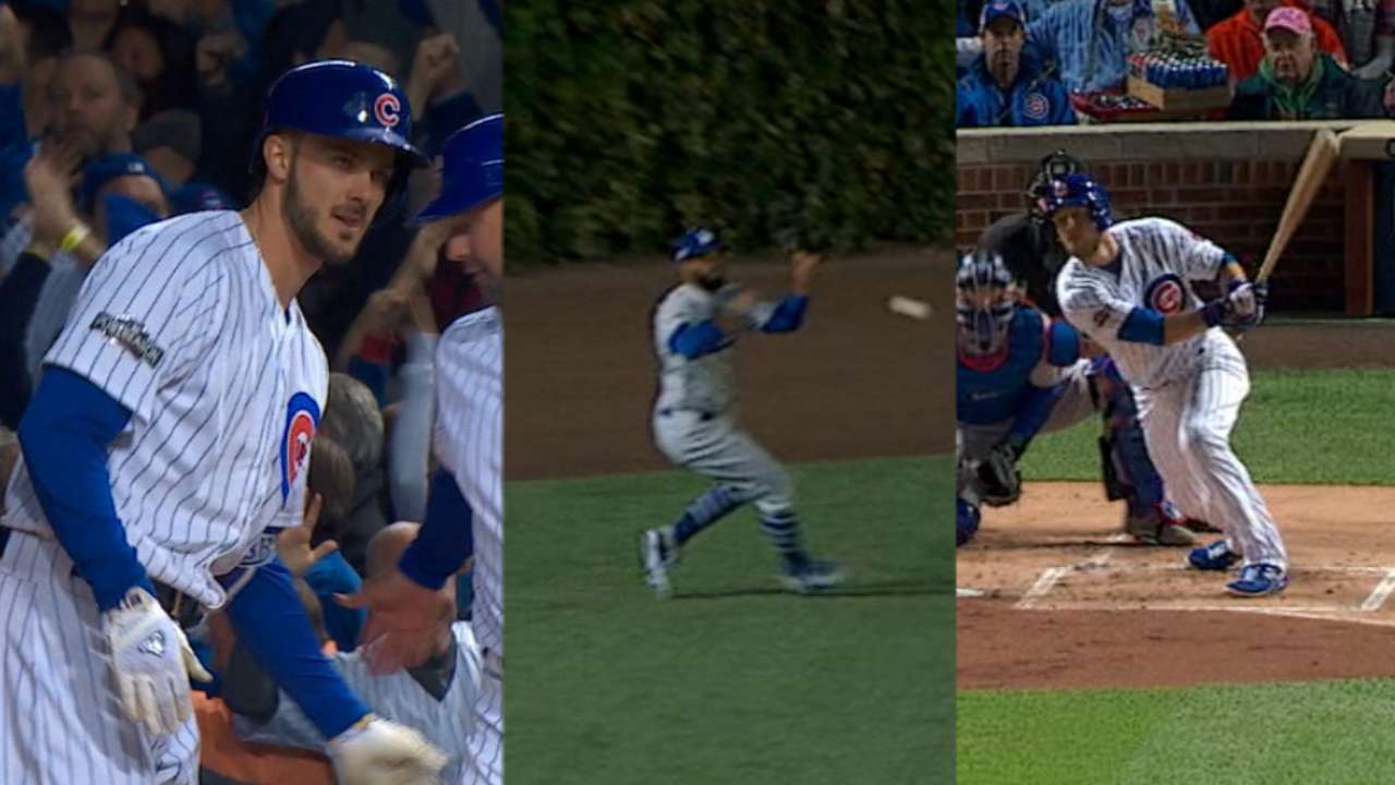 Cubs score two in the 1st