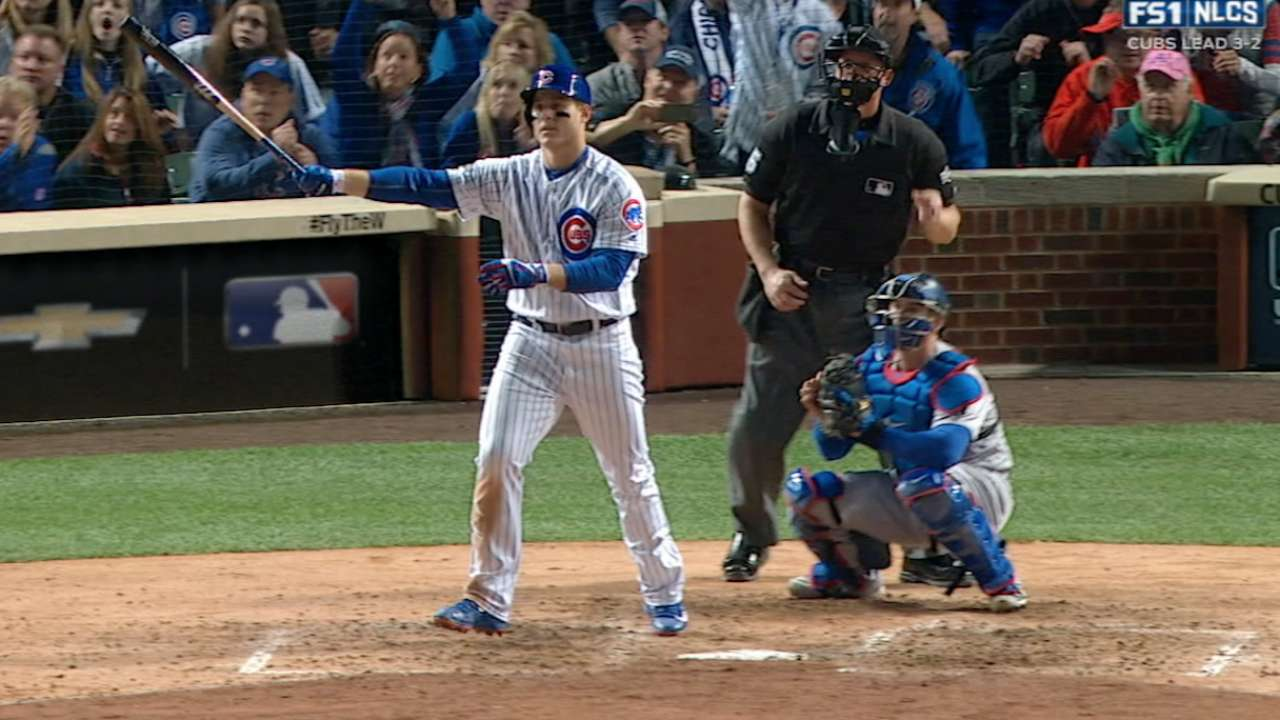 Rizzo's towering solo homer