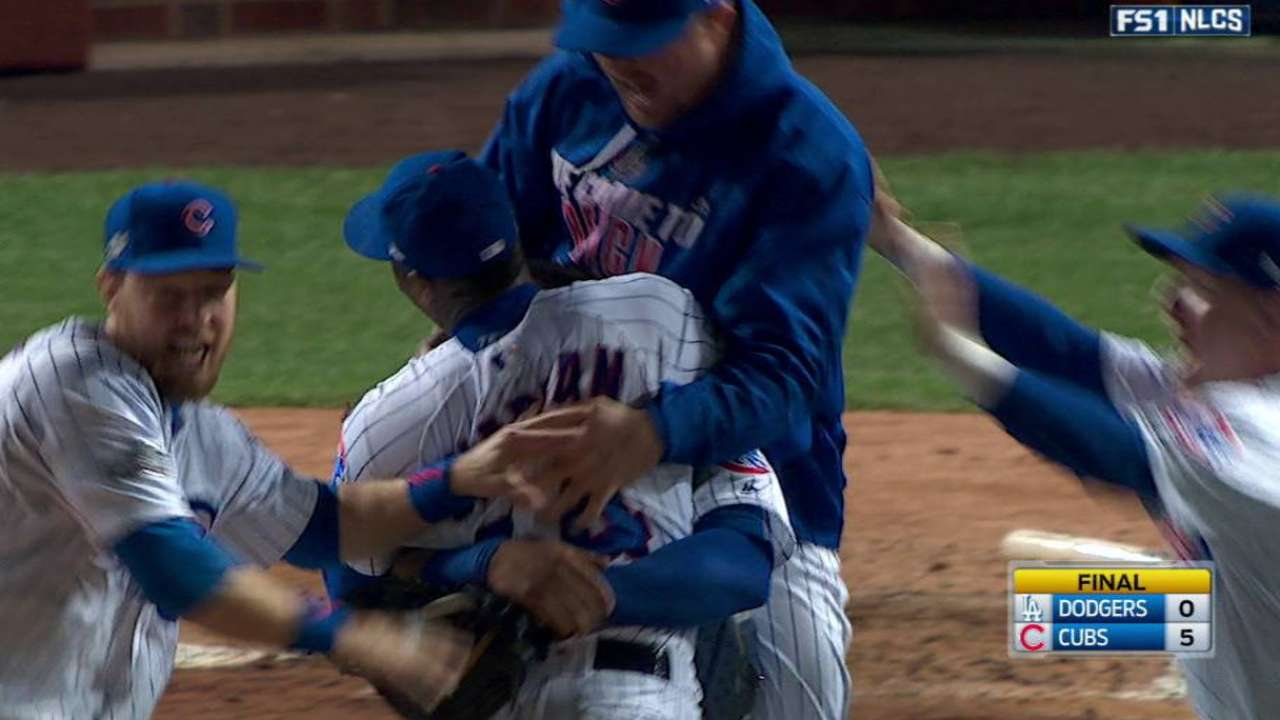 Cubs win historic pennant