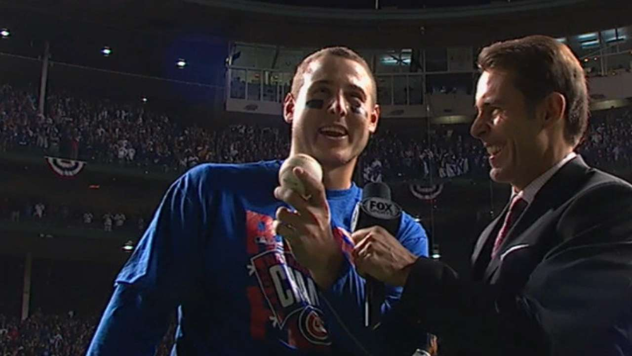 Rizzo stashes final out ball