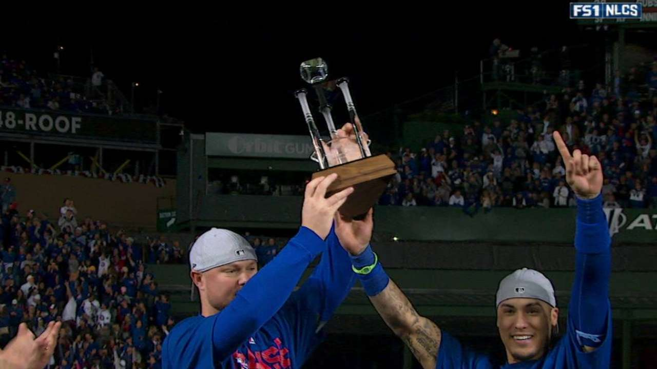 Lester, Baez share MVP honors