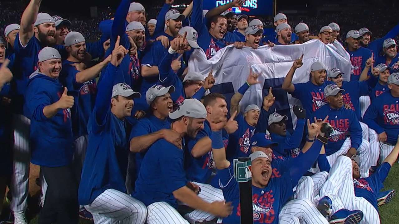Wait of the World: Cubs win NL pennant!